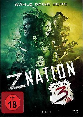 Z Nation | 3 Staffel | uncut Edition | Zombie | Horror | [FSK18] DVD