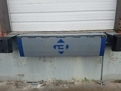 """BLUFF Edge-of-Dock Levelers - 72""""W Plate, overal 94"""" with Bumpers NEW"""
