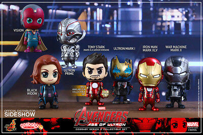 Avengers 2 Age Of Ultron Series 2 Cosbaby Figure Set (7) HOT TOYS