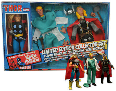 Thor Marvel Retro Collector's Limited Edition (' MEGO Style Action Figure