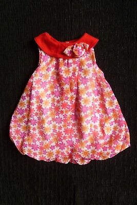 Baby clothes GIRL 12-18m Cutey Pie gorgeous dress-style top,soft lined SEE SHOP!