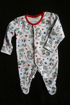 Baby clothes UNISEX BOY GIRL newborn 0-1m Looney Tunes rabbit babygrow SEE SHOP