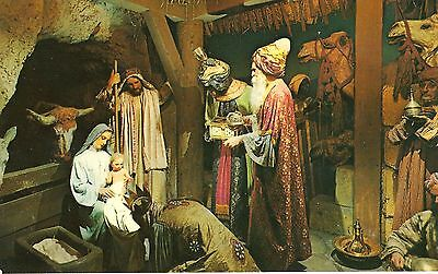 MONTREAL EXPO 1967 Postcard - ADORATION OF THE 3 KINGS - CANADA HISTORIC MUSEUM