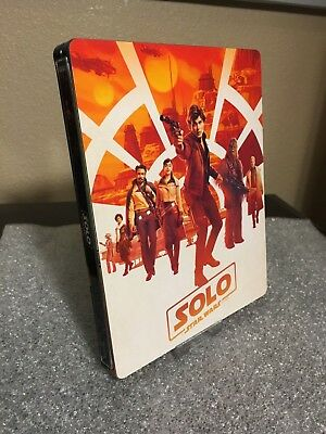 Magnetic Cover Art For SOLO a star wars Steelbook