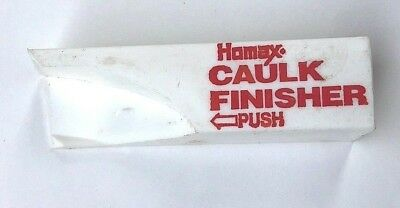 Homax Caulk Finisher Tool with Instruction Booklet