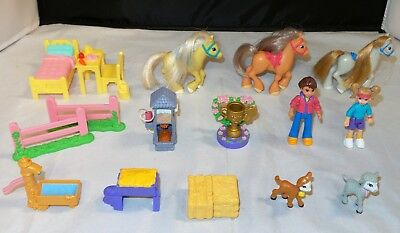 Fisher Price Sweet Streets Stable - You Choose - People, Horses, Furniture +
