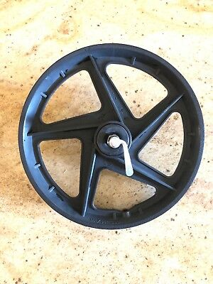 """BOB Ironman Utility Stroller Replacement 16"""" Front WHEEL w clamps"""
