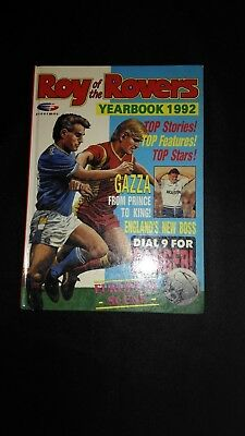 Roy of The Rovers 1992 Annual Vintage Football/Soccer