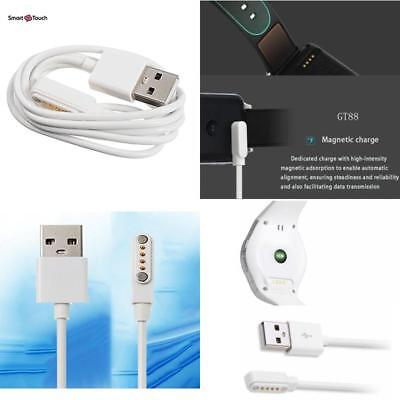 Smart Watch Magnetic Charger Usb Cord Smart Watch Models A 4 Pin Suction