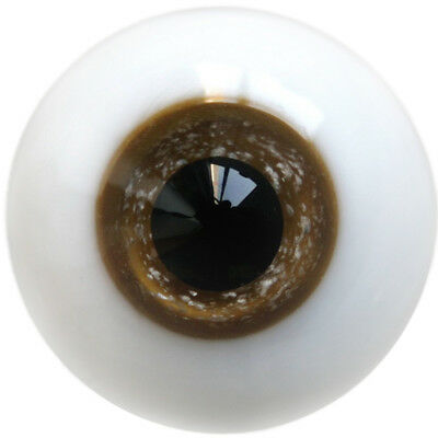 [wamami] E1201# 14mm Brown Glass Eyes for BJD Dollfie Pupil Pupuil Eyes Outfit