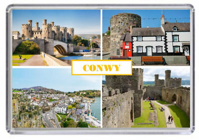 Conwy, Wales Fridge Magnet 01