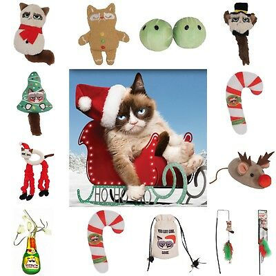 Grumpy Cat Christmas Catnip Cat Toy Collection Official Merchandise