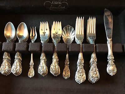 Francis Ist by Reed and Barton Sterling Silver Flatware Set 52 Pieces 1969 Chest