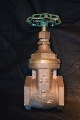 Jenkins 810 Bronze Threaded Wedge Gate Valve 3 In Npt 125 wsp, 200 wog