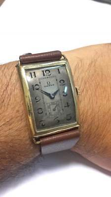 Omega Curvex Small Second Watch Cal 26.5 S0B.T2 Vintage Antique Watch 1930