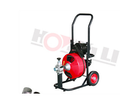 Hoc D100C Power Feed Drain Cleaner 100 Foot Drainer Cleaner + 30 Day Warranty