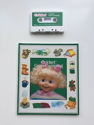 Playmates Cricket Goes Camping Book & Cassette