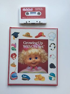 Playmates Cricket Growing Up Book & Cassette
