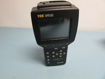 Tektronix WFM 90 w/Canvas Carry Case  (C3B) Pre-Owned.