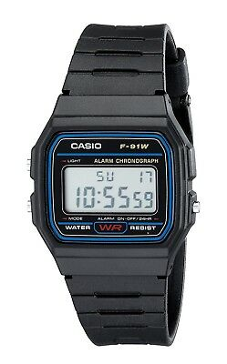 Casio F91W-1D F-91W-1 Digital Watch Brand New with BOX!!!