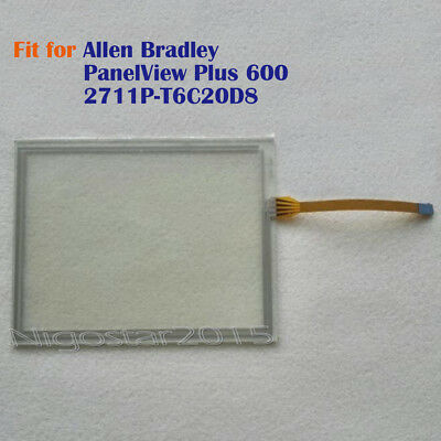 New for Allen Bradley PanelView Plus 600 2711P-T6C20D8 Touch Screen Glass