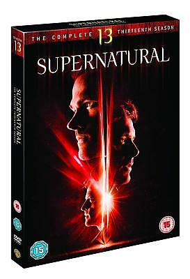 Supernatural Season Series 13 Complete DVD Boxset New Region 2 + 4 Pal