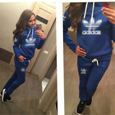 New girl women Tracksuit Hoodies Sweatshirt Pants Sets Sport Wear Casual suit AD