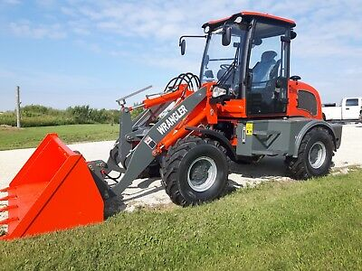 New  Wrangler Wheel Loader. compact articulating. Skid steer attachments Kohler