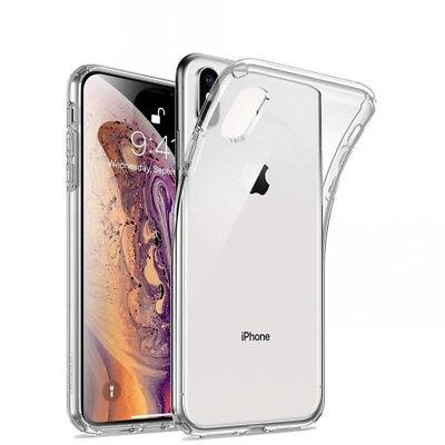 Clear Transparent Soft Case Cover For Apple Iphone X / Xs / Xs Max / Xr