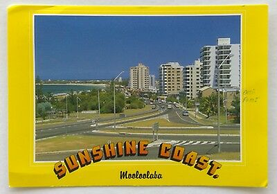 Mooloolaba Sunshine Coast from Alexandra Headland Murray Views Postcard (P335)