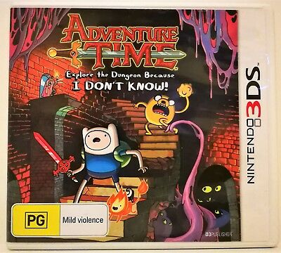 Nintendo 3DS 2DS DS DSi Game: Adventure Time: Explore the Dungeon ..I Don't Know