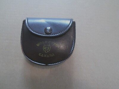 Wolf Cubs of Canada Vintage Leather Belt Pouch