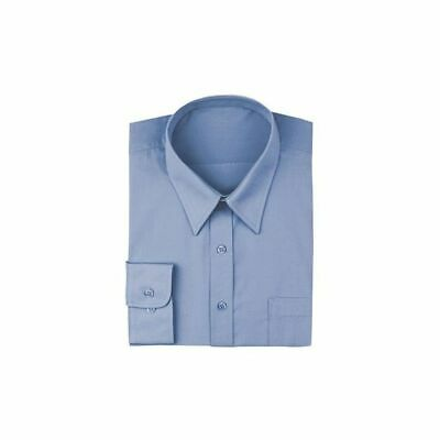 Chef Works Men's French Blue Dress Shirt - D100-FRB