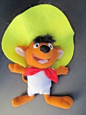 "Ace Play By Play Speedy Gonzales Looney Tunes Plush Toy 9""  6892"
