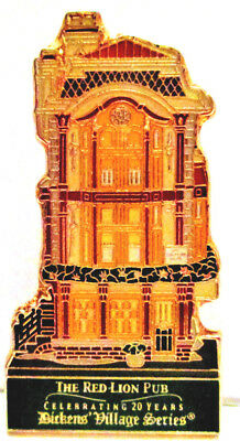 *Dickens Village Series* Pin - Red Lion Pub - 20th Year *Department 56* Spec Ed.