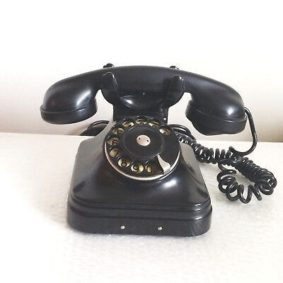 Antique Art Deco Bakelite Telephone Full WORKING Order