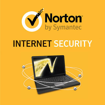 Norton Internet Security 2018/2019 1 Year License Activation Key