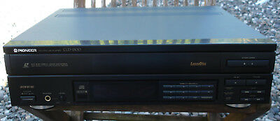 Pioneer CLD-1500 Laserdisc Player LD CD CDV inkl.FB