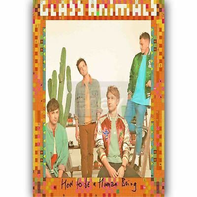 E-15 Art Glass Animals How To Be A Human Being Album Music Poster 20x20 24x24