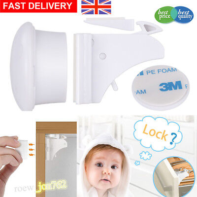 Invisible Magnetic Cabinet Drawer Cupboard Locks For Baby Child Kids Safety Lock