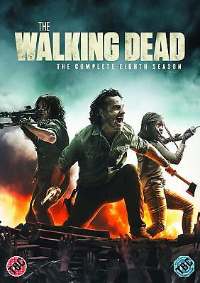 THE WALKING DEAD Series 8 SEALED/NEW Complete 8th Season eight 5039036087100