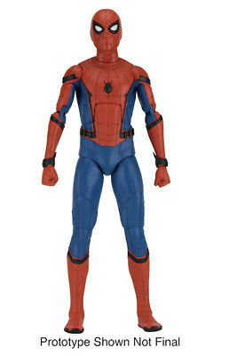 Spider-Man 18' Homecoming Spider-Man 1/4 Scale Action Figure NECA