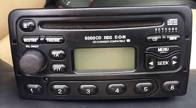 Ford Radio 6000 Cd Code Unlock Lost Radio Code?  85P Keycode In 24 Hour M Code