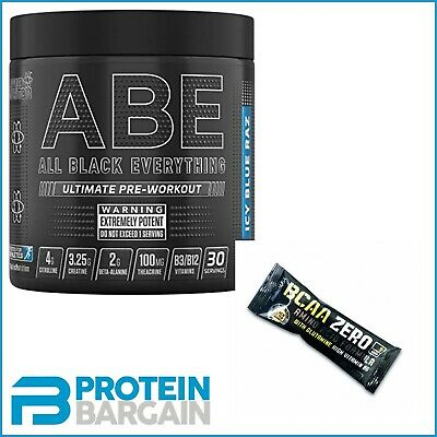 Applied Nutrition ABE All Black Everything 315g Strong Pre Workout 30 Servings
