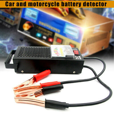 6V-12V 100 Amp Battery Load Tester Alligator Clip Heavy Duty Car Truck Checker