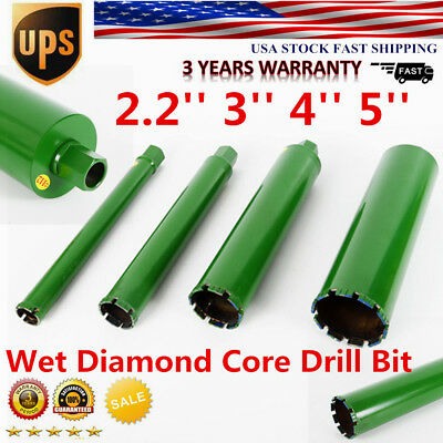 2.2'' 3'' 4'' 5''Wet Diamond Core Drill Bit for Concrete for Concrete Premium US