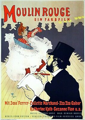 Moulin Rouge - Original East German Poster - Very Rare