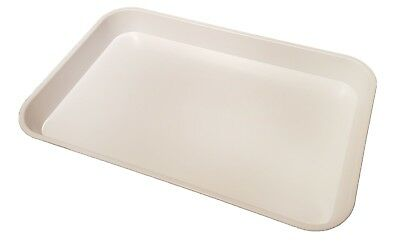 KB8 Kabi Plastic Deep White Catering Tray Pack of 10