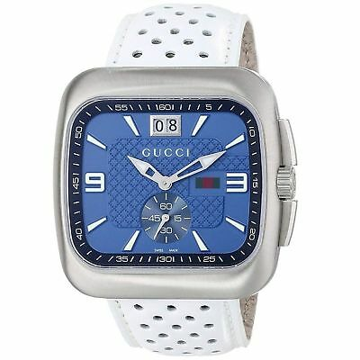 87b8e8e5d38 GUCCI G-COUPE BLUE Dial Stainless Steel Watch YA131304 -  495.00 ...