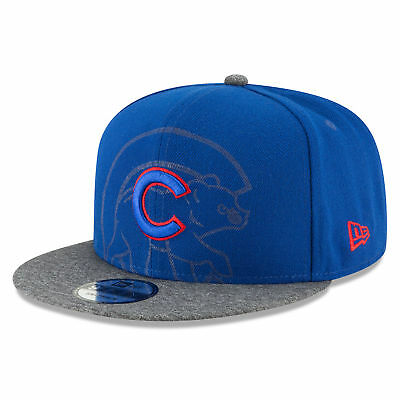 MLB Chicago Cubs New Era Logo Peek 9FIFTY Cappello da Baseball Regolabile